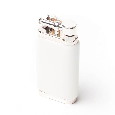 OLD BOY PIPE LIGHTER WHITE