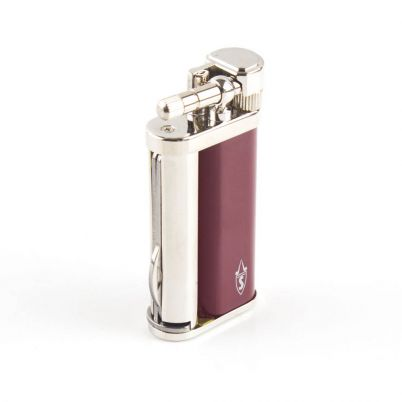 SAVINELLI LIGHTER LAQUERED BURGUNDY