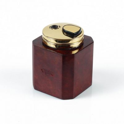 LEATHER SQUARE TABLE LIGHTER