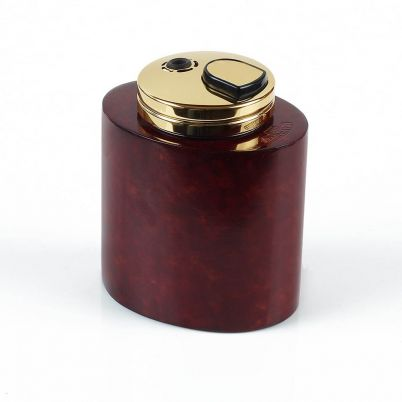 OVAL TABLE LIGHTER BORDEAUX
