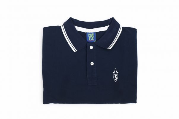 SAVINELLI POLO SHIRT BLUE