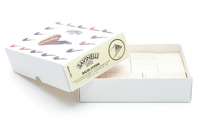6 MM SAVINELLI BALSA FILTERS (300 PCS)