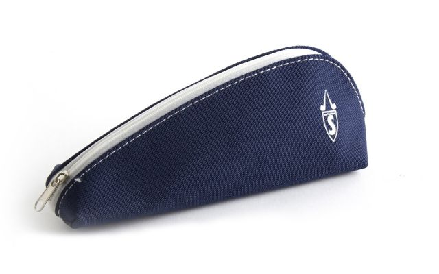 CLOTH PIPE POUCH BLUE