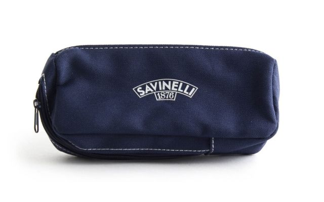 PIPE AND TOBACCO CLOTH POUCH BLUE