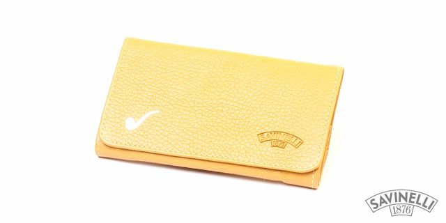 ROLL-UP HAND ROLLING TOBACCO POUCH YELLOW