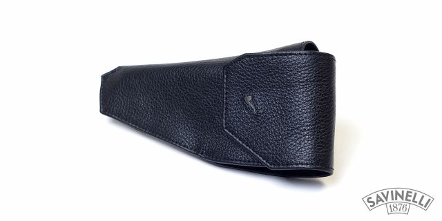LEATHER PIPE HOLSTER BLACK