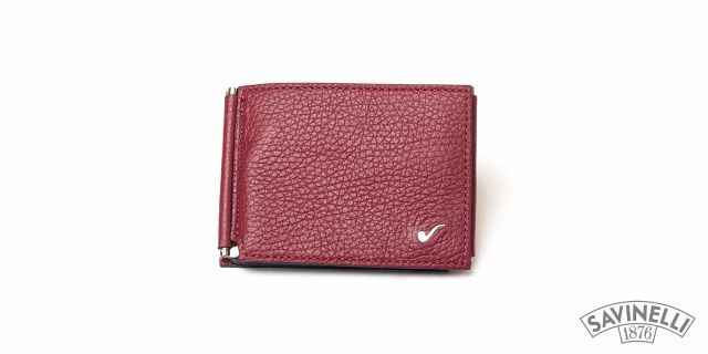 CLIP WALLET RED
