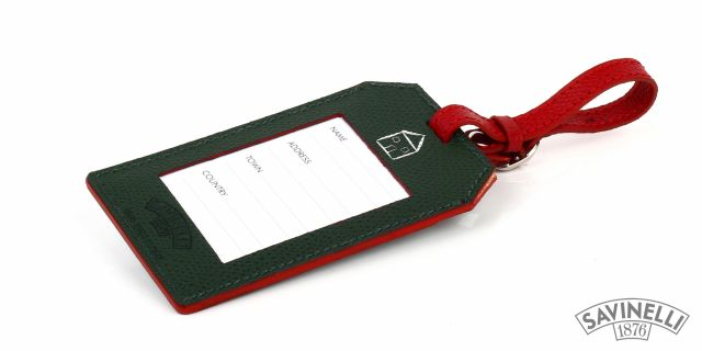 LUGGAGE TAG GREEN