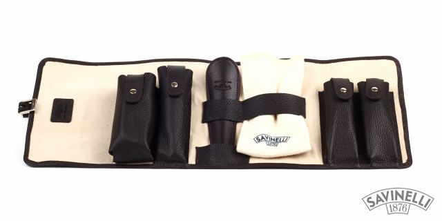 SHOE CLEANING SET BROWN