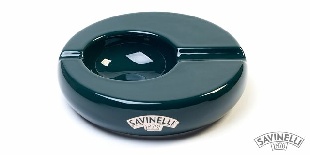 ROUNDED CIGAR ASHTRAY GREEN