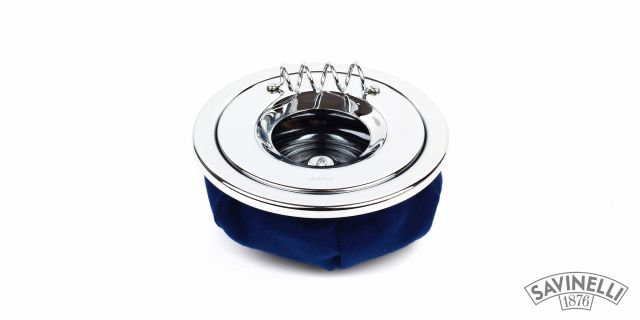 CIGARETTE ASHTRAY CORVETTE BLUE