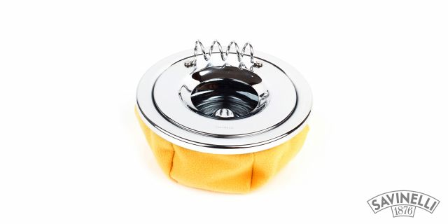 CIGARETTE ASHTRAY CORVETTE YELLOW