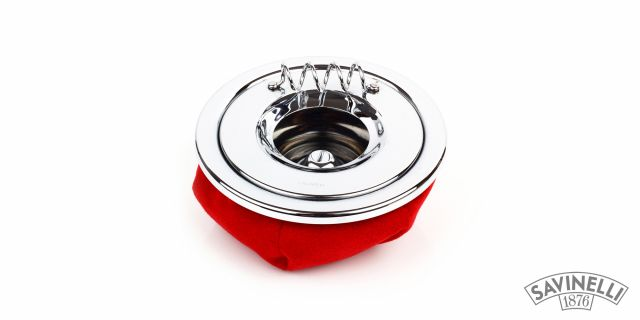 CIGARETTE ASHTRAY CORVETTE RED