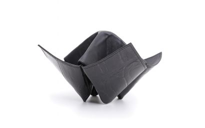 PIPES/ITEMS HOLDER ORIGAMI BLACK
