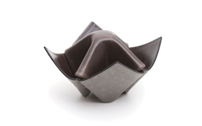 PIPES/ITEMS HOLDER ORIGAMI GREY AND DARK GREEN