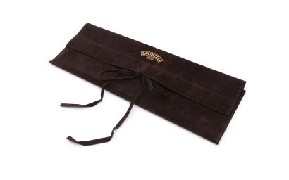 CHURCHWARDEN VELVET POUCH BROWN