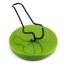 SEGGIOLINA PIPE STANDS LIGHT GREEN