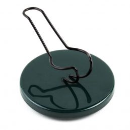 SEGGIOLINA PIPE STANDS DARK GREEN