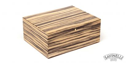 STRIPED HUMIDOR MEDIUM