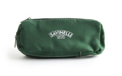 PIPE AND TOBACCO CLOTH POUCH GREEN