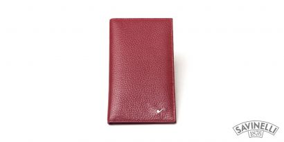 LEATHER CREDIT CARDS HOLDER RED