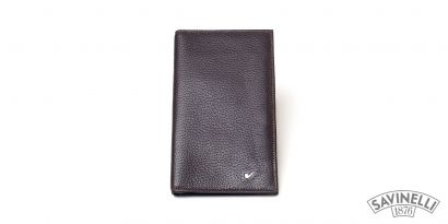 LEATHER CREDIT CARDS HOLDER BROWN