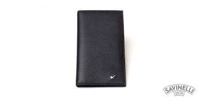 LEATHER CREDIT CARDS HOLDER BLACK