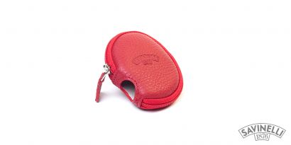 LEATHER PIPE SLEEVE RED