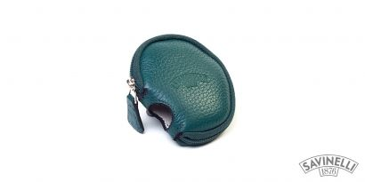 LEATHER PIPE SLEEVE GREEN