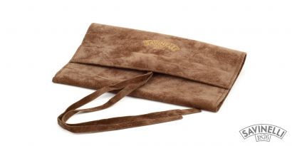 VELVET PIPE BAG HAZELNUT