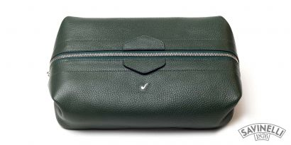 MAN TRAVEL TROUSSE GREEN