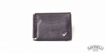 CLIP WALLET BROWN