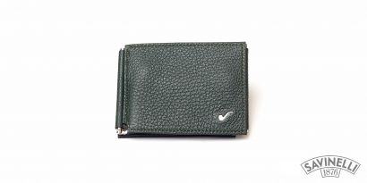CLIP WALLET GREEN
