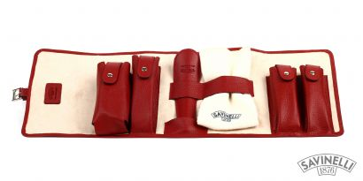 SHOE CLEANING SET RED