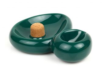 SIDECAR PIPE ASHTRAY GREEN