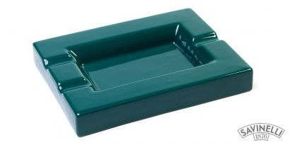 CIGAR ASHTRAY AURORA GREEN