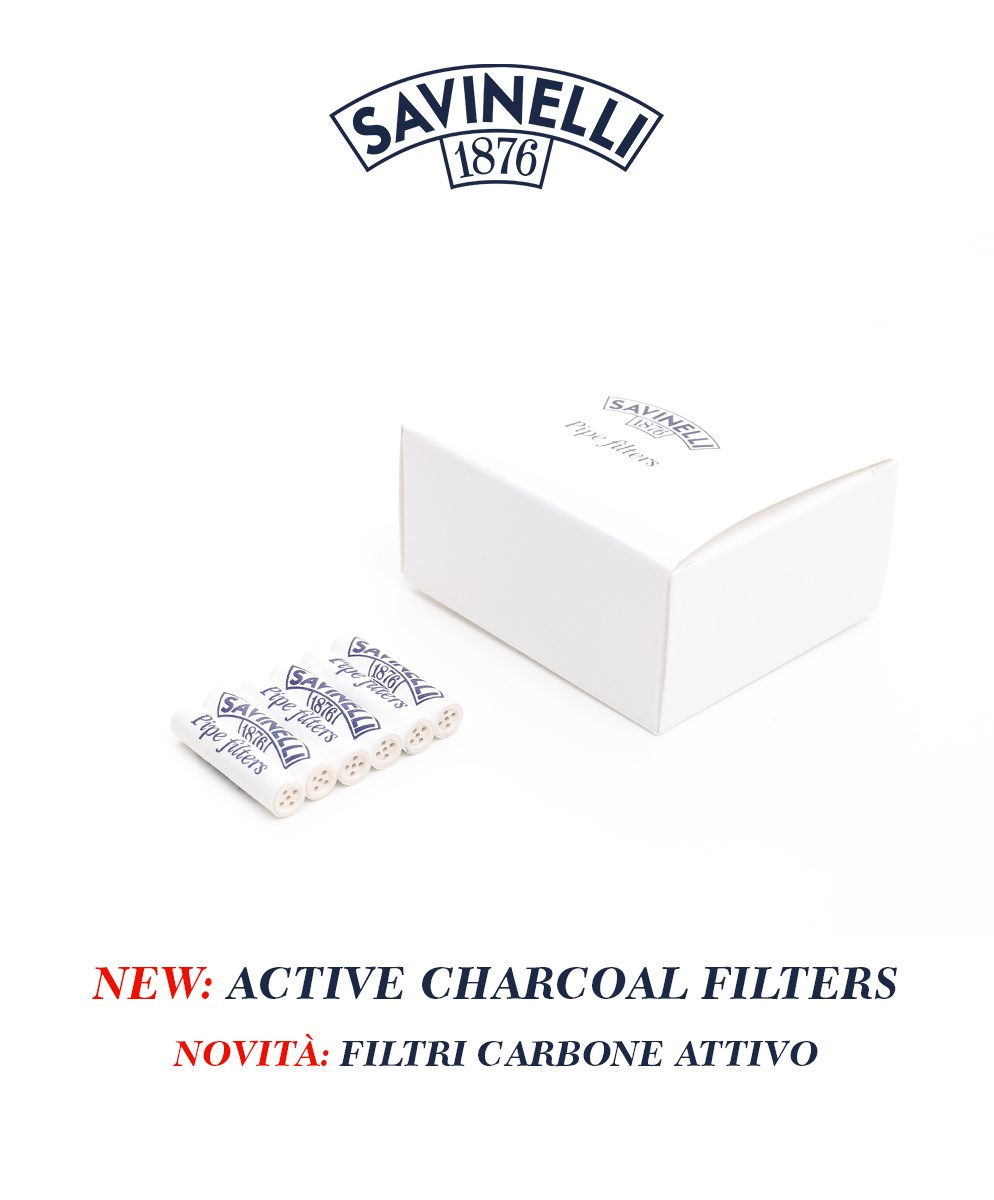 Activated charcoal filters